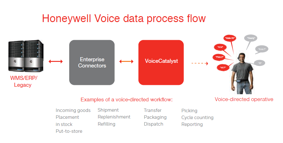 Voice Data Process Flow
